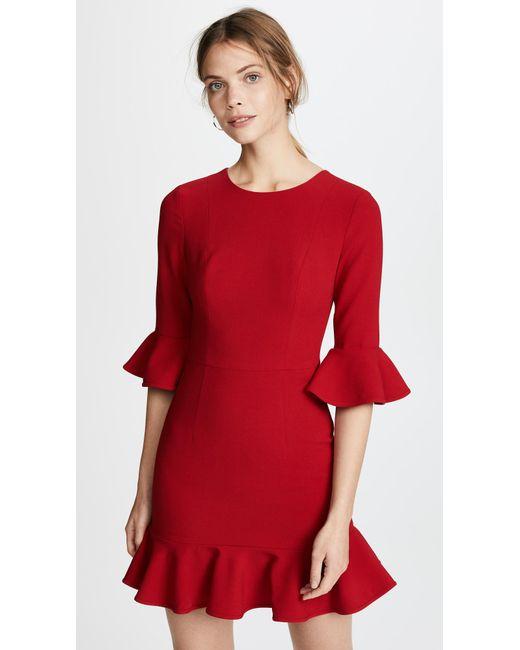 Black Halo - Red Brooklyn Dress - Lyst