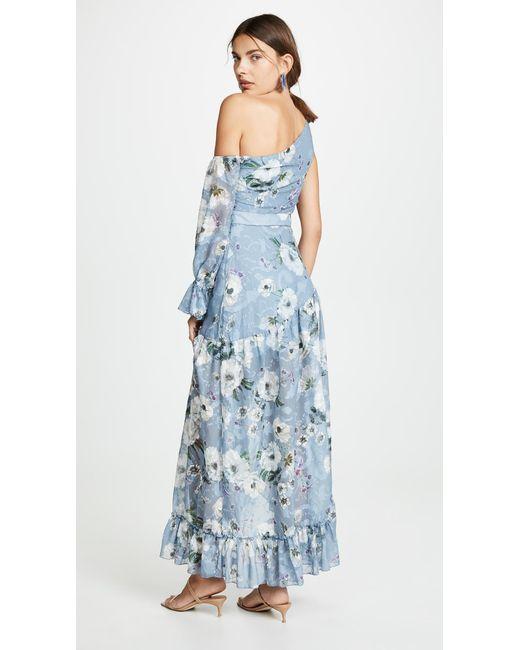 229e5ed4b677d ... We Are Kindred - Blue Tabitha Asymmetrical Dress - Lyst ...