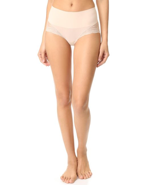 Spanx - Multicolor Undietectable Lace High Hipster Briefs - Lyst