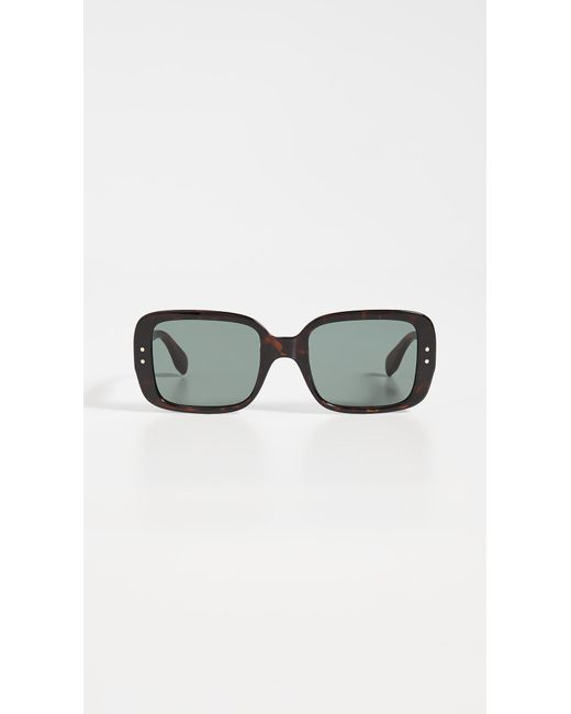 Le Specs Multicolor X Solid & Striped Saline Sunglasses