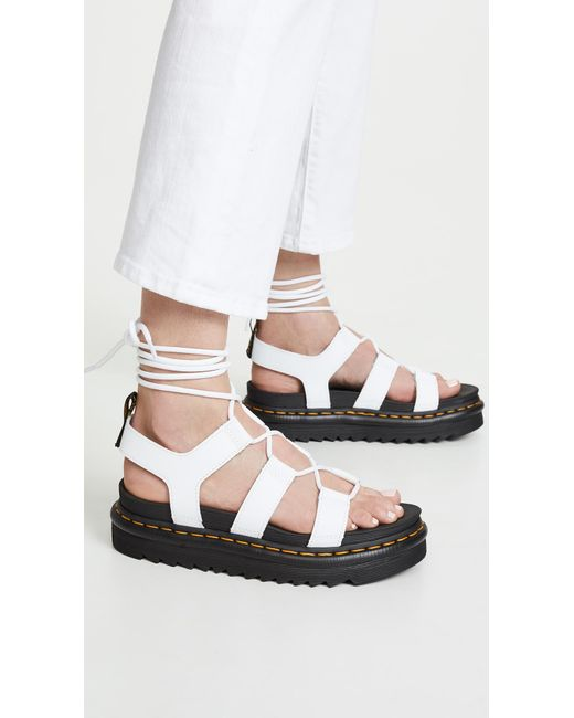Sandals White 6Lyst In Save DrMartens 9IHYE2WD