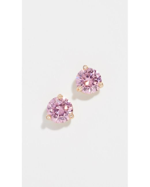 Kate Spade - Pink Rise & Shine Small Stud Earrings - Lyst