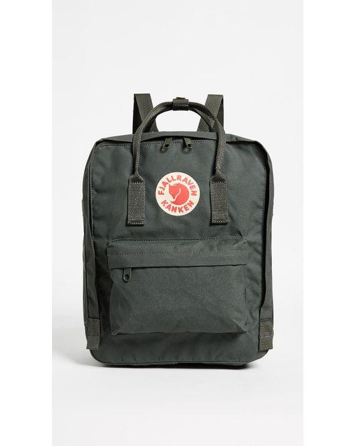 Fjallraven Green Kanken Backpack