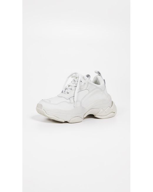 Jeffrey Campbell White Lo-fi Sneakers
