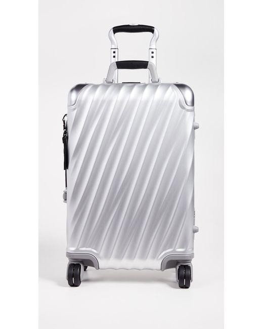 Tumi Metallic 19 Degree Aluminum International Carry On
