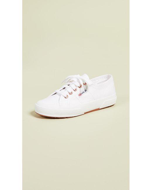 acee5d95360f Superga - White 2750 Cotu Classic Sneakers - Lyst ...