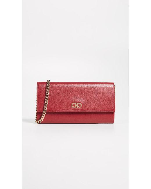 Ferragamo - Multicolor Gancini Mini Crossbody Bag - Lyst ... 862c4cb837960