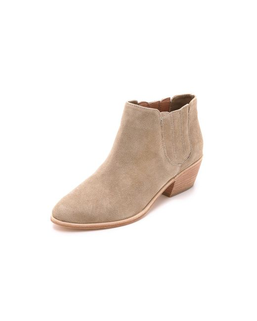 Joie | Natural Barlow Suede Booties | Lyst
