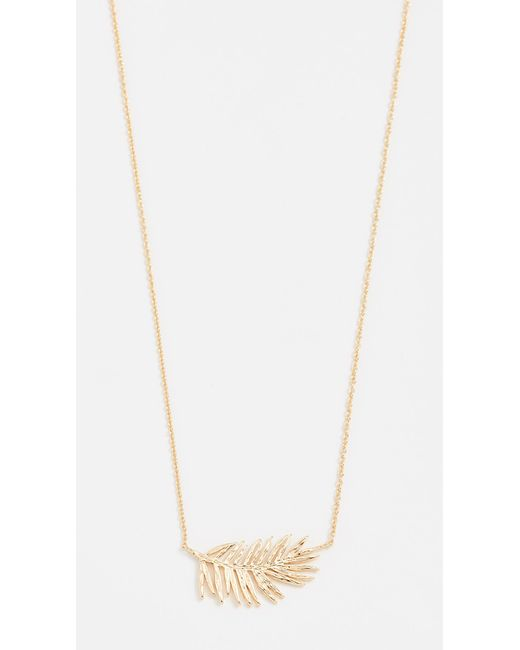 Gorjana - Metallic Palm Adjustable Necklace - Lyst