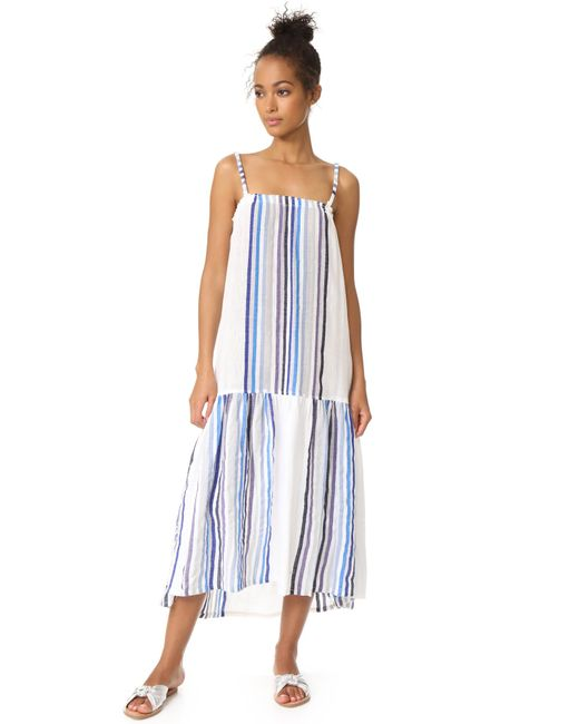 Lemlem | Blue Candace Maxi Dress | Lyst