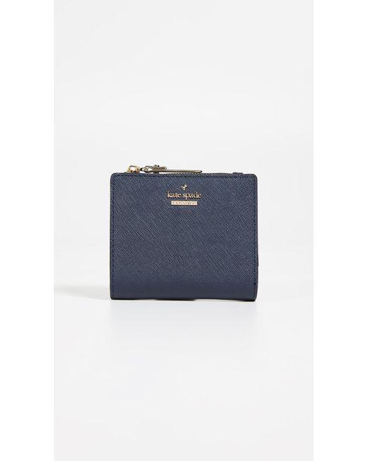Kate Spade - Blue Cameron Street Adalyn Mini Wallet - Lyst