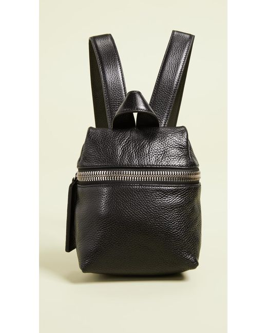Kara - Black Maxi Detail Backpack - Lyst