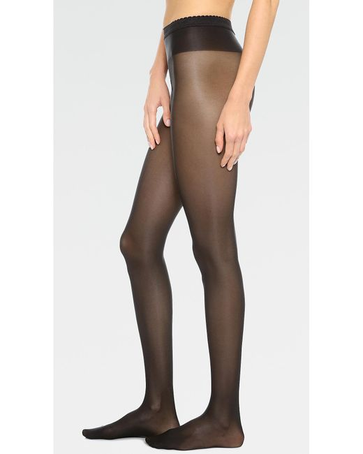 Wolford Black Neon 40 Tights