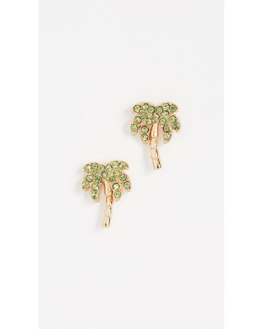 Kate Spade - Multicolor California Dreaming Palm Tree Studs - Lyst