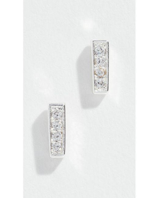 Gorjana - Metallic Mave Shimmer Mini Stud Earrings - Lyst