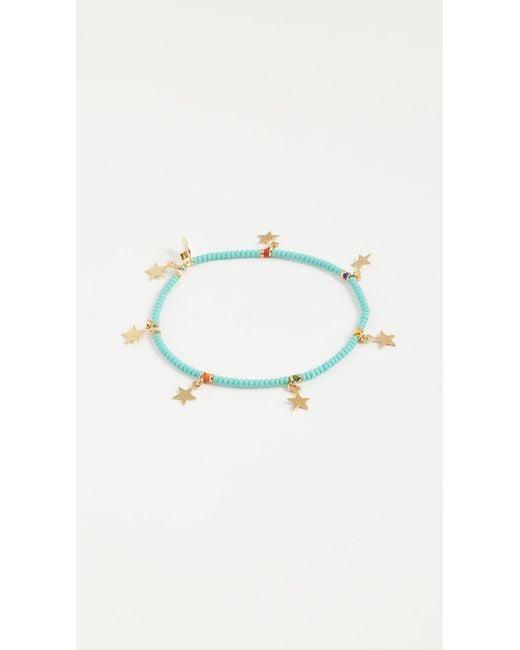 Shashi | Blue Star Lilu Bracelet | Lyst