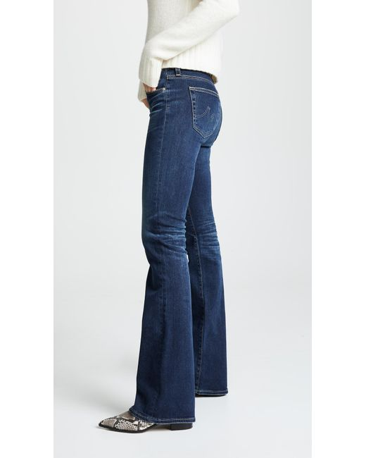 AG Jeans - Blue Angel Bootcut Jeans - Lyst
