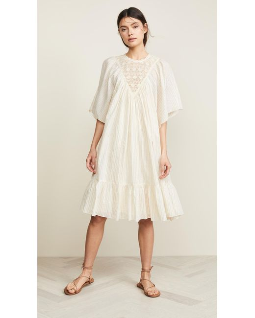 Antik Batik - Natural Gelly Dress - Lyst ... 1047c4e35