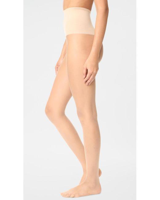 Spanx Natural Tummy Shaping Sheer Tights