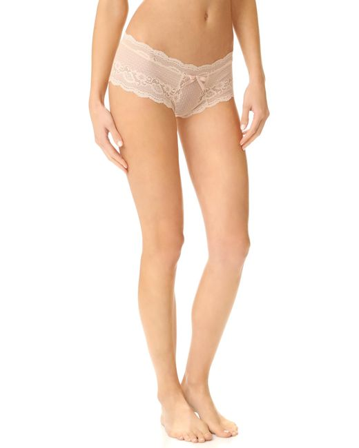 Eberjey | Natural Anouk Lace Briefs | Lyst