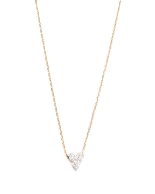 Adina Reyter | Metallic Diamond Cluster Necklace | Lyst