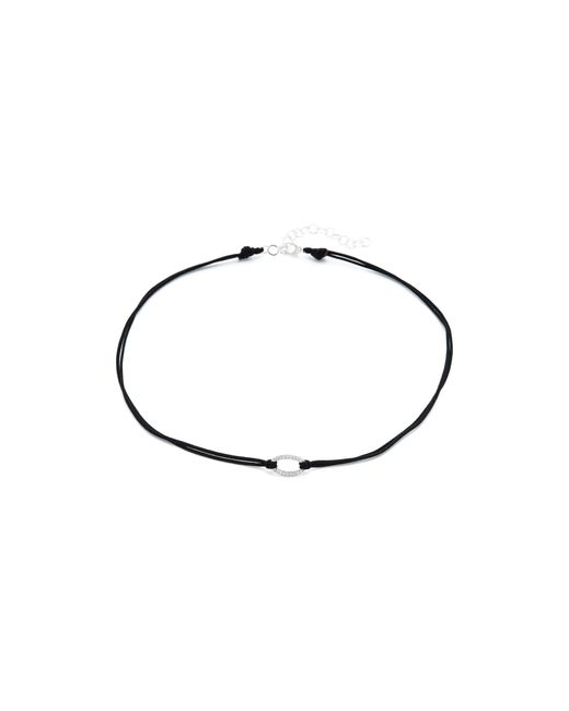 Adina Reyter | Metallic Pave Oval Choker Necklace | Lyst