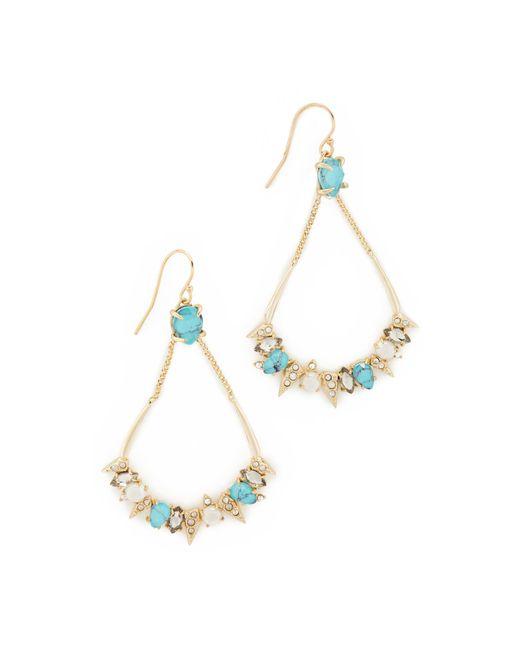 Alexis Bittar   Metallic Pavé Spike Stone Cluster Earrings   Lyst