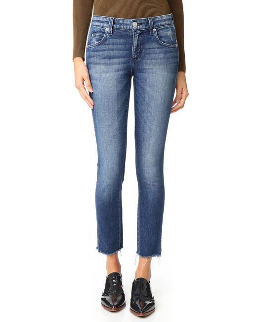 AMO | Blue Stix Crop Skinny Jeans | Lyst