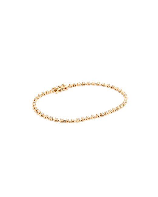 Ariel Gordon | Metallic Diamond Tennis Bracelet | Lyst