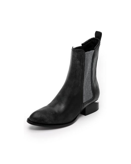 Alexander Wang | Black Anouck Chelsea Boots | Lyst