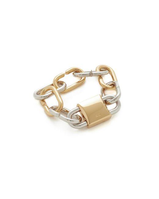 Alexander Wang   Metallic Broken Link Bracelet   Lyst