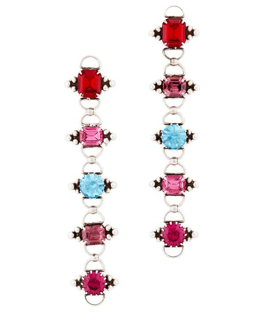 DANNIJO | Multicolor Bernadette Earrings | Lyst