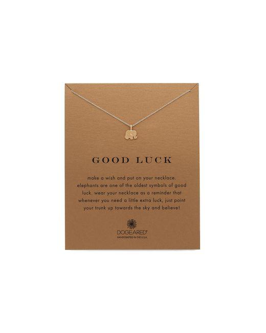 Dogeared | Metallic Good Luck Charm Necklace | Lyst