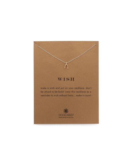 Dogeared | Metallic Wish Necklace | Lyst