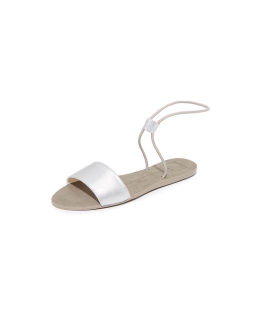 Dolce Vita   Metallic Dara Elastic Sandals   Lyst