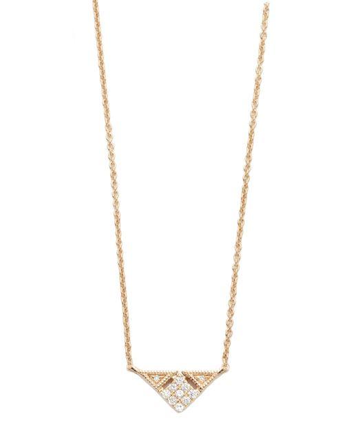 Dana Rebecca | Metallic Emily Sarah Triangle Necklace | Lyst