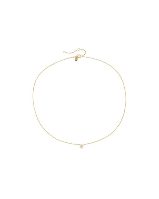 EF Collection | Metallic Diamond Teardrop Choker Necklace | Lyst