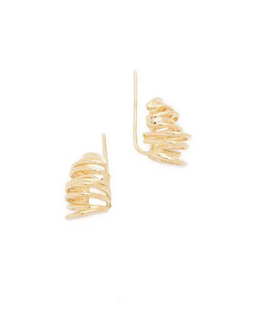 Elizabeth and James | Metallic Roxy Earrings | Lyst