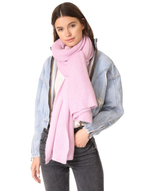 Free People | Pink Kennedy Scarf | Lyst