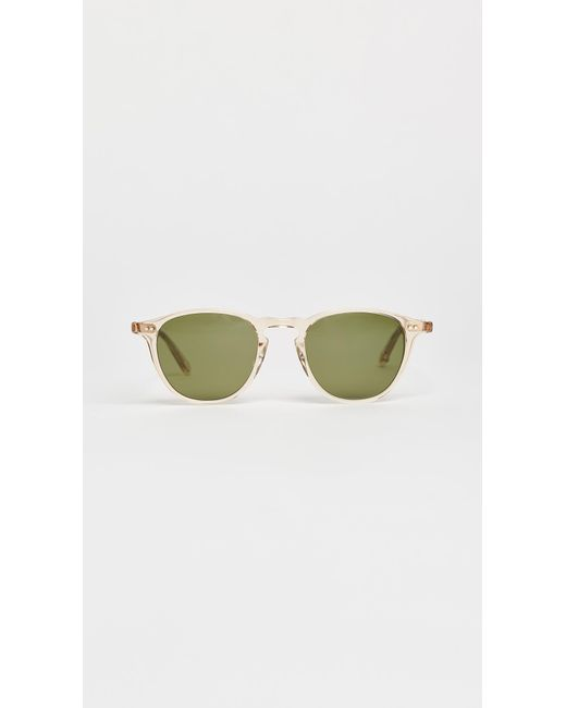 Garrett Leight | Metallic Hampton Sunglasses | Lyst