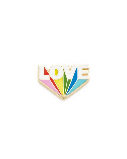 Georgia Perry | Multicolor Love Beams Lapel Pin | Lyst