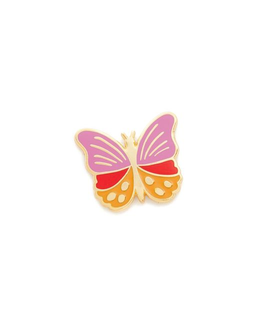Georgia Perry | Pink Butterfly Lapel Pin | Lyst