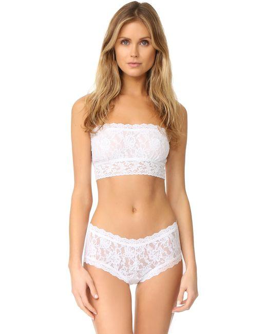 Hanky Panky | White Signature Lace Bandeau Bralette | Lyst