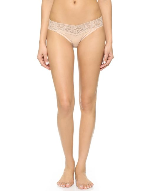 Hanky Panky | White Cotton With A Conscience V-kini Briefs | Lyst