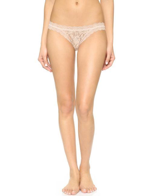 Hanky Panky | Pink Signature Lace Brazilian Bikini | Lyst