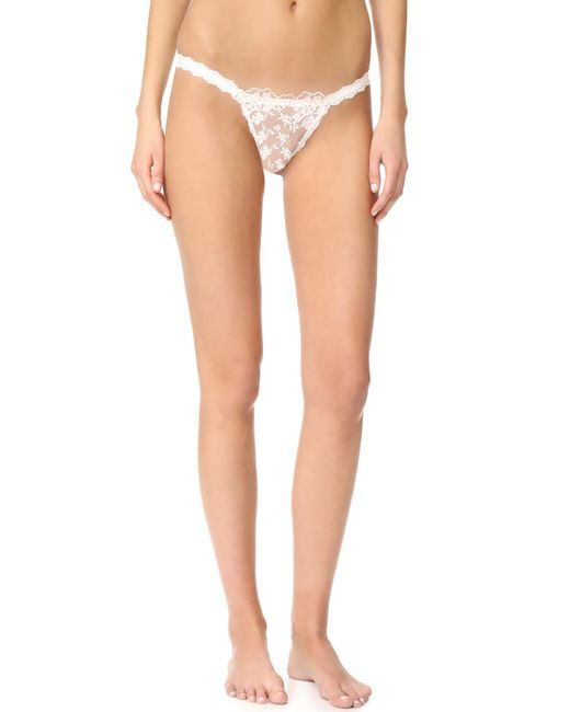 Hanky Panky | White Elizabeth Keyhole Bikini Briefs | Lyst