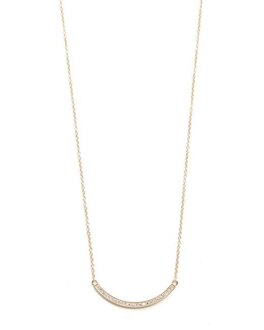 Jennifer Meyer | Metallic Diamond Stick Necklace | Lyst