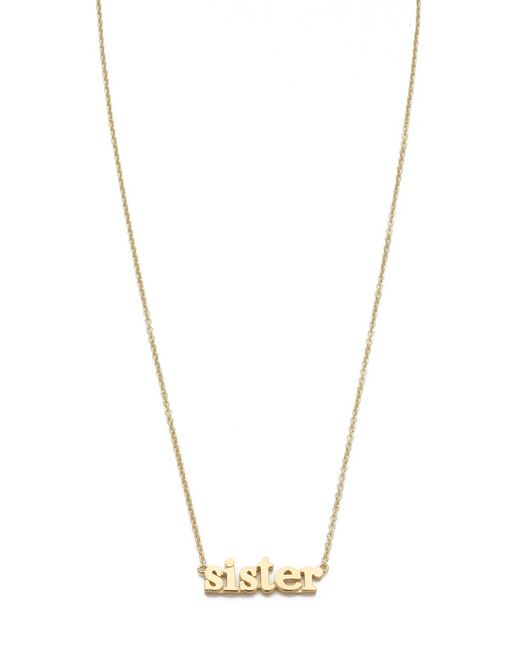Jennifer Meyer | Metallic Sister Necklace | Lyst