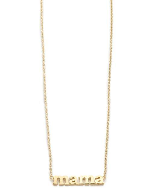 Jennifer Meyer | Metallic Mama Necklace | Lyst