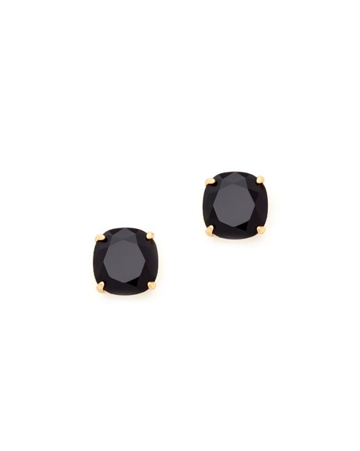 kate spade new york | Black Small Square Stud Earrings | Lyst